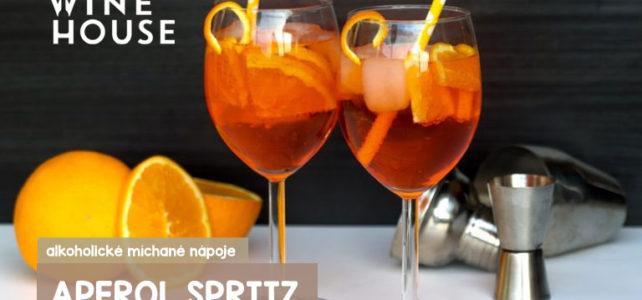 Aperol Spritz – letní alkoholický míchaný nápoj