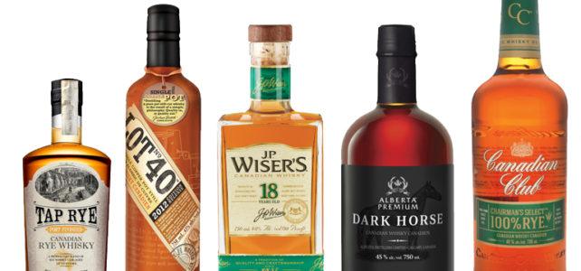 V čem vyniká kanadská whisky?