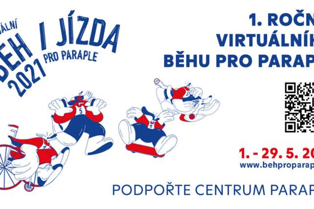 1. ročník Virtuálního běhu pro Paraple