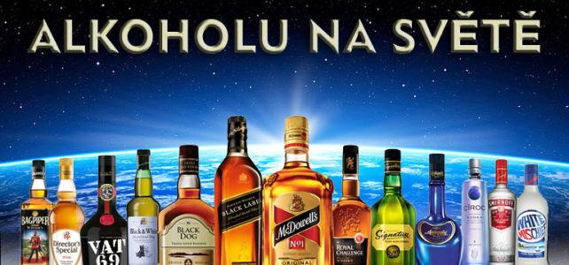 Nejprodávanější značky alkoholu na světě