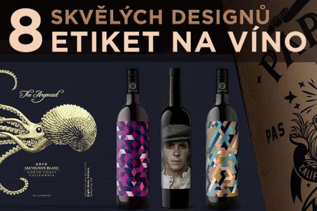 8 designových návrhů viňet