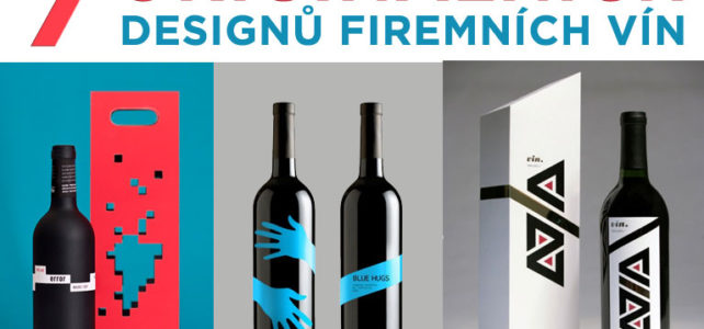 7 originálních designů firemních vín