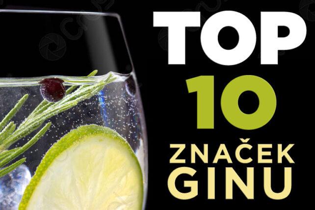 TOP značky Ginu, aneb jaký je nejlepší Gin
