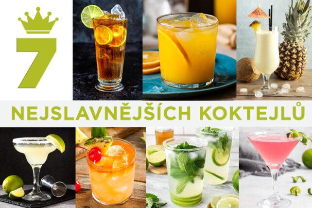7 nejslavnějších koktejlů a drinků světa
