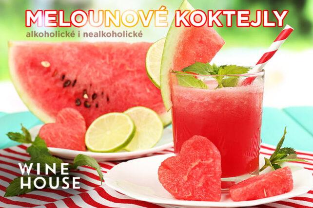 Melounové koktejly – alkoholické letní osvěžení